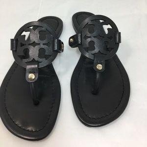 Tory Burch Miller Black Sandals sz. 6.5